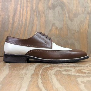 Belvedere Brown Leather Italian Dress Shoes